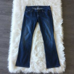 Express Jeans Zelda Barely Women Boot Cut Denim 8s